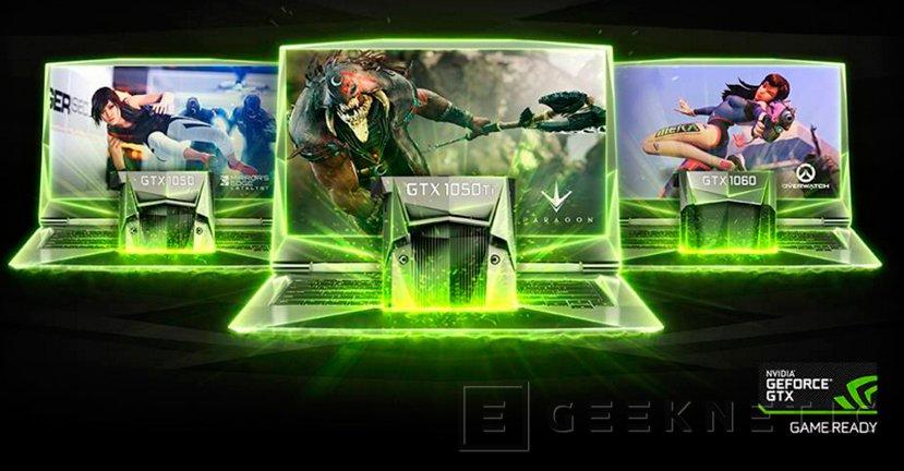 Las GeForce GTX 1050 y 1050 Ti llegan a portátiles, Imagen 1