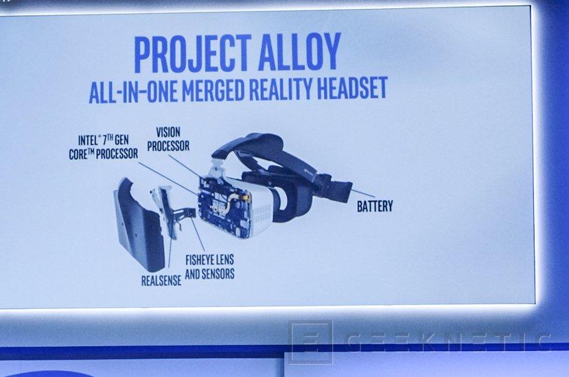 Intel sigue evolucionando su sistema de VR Project Alloy y muestra sus progresos, Imagen 1