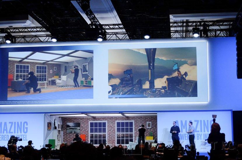 Intel sigue evolucionando su sistema de VR Project Alloy y muestra sus progresos, Imagen 3