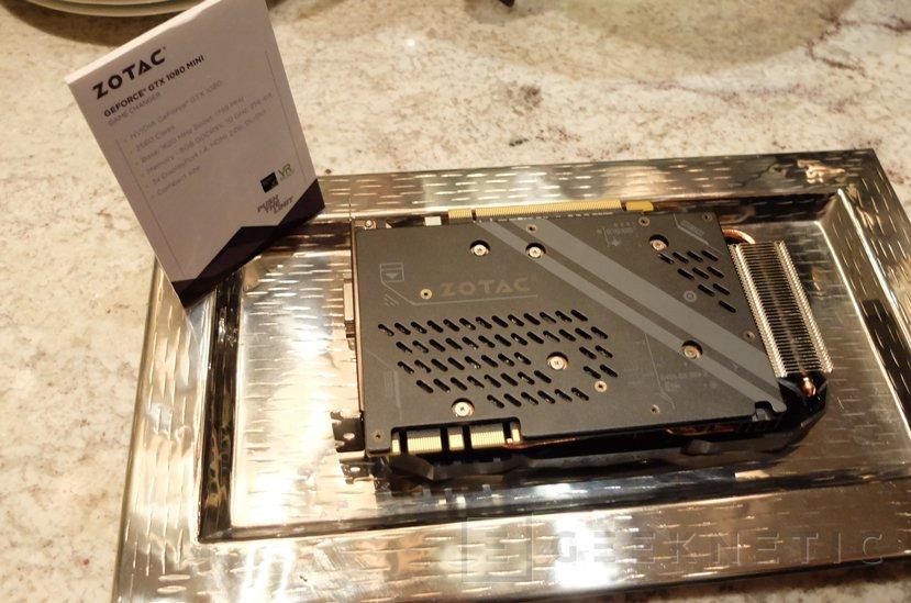 ZOTAC nos enseña la GTX 1080 más pequeña del mundo, Imagen 3
