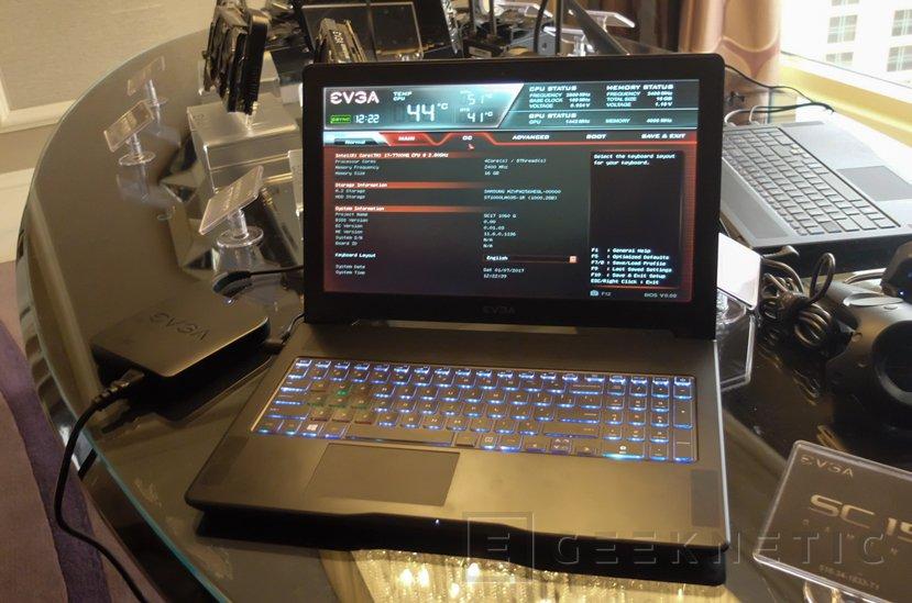 El nuevo portátil SC15 de EVGA llega con Kaby Lake y GTX 1060, Imagen 1