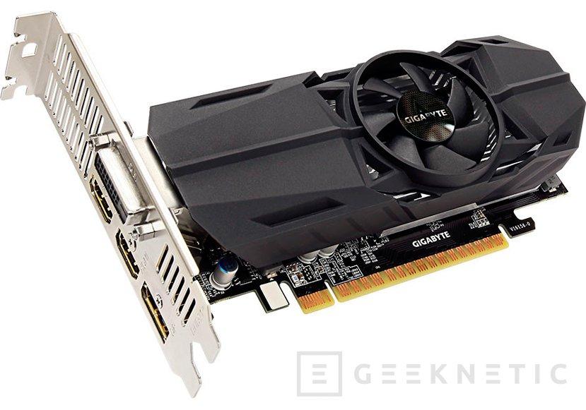 Las GTX 1050 Ti y GTX 1050 se vuelven de perfil bajo gracias a Gigabyte, Imagen 1