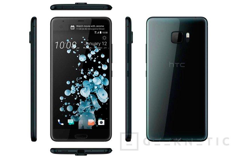 HTC apuesta por la doble pantalla para reconquistar la gama alta con su U Ultra, Imagen 1