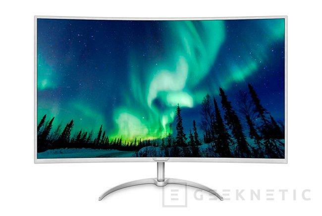 El Philips BDM4037UW es el monitor curvo más grande del mercado, Imagen 1