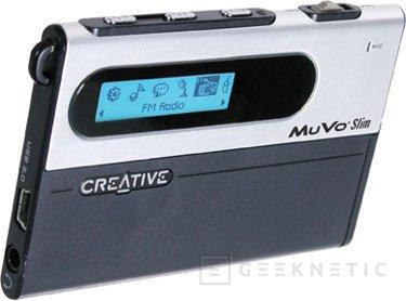 Creative MuVo del tamaño de una tarjeta de crédito, Imagen 1