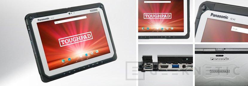 El tablet Panasonic Toughpad FZ-A2 resiste caidas desde 1,2 metros sin problemas, Imagen 1