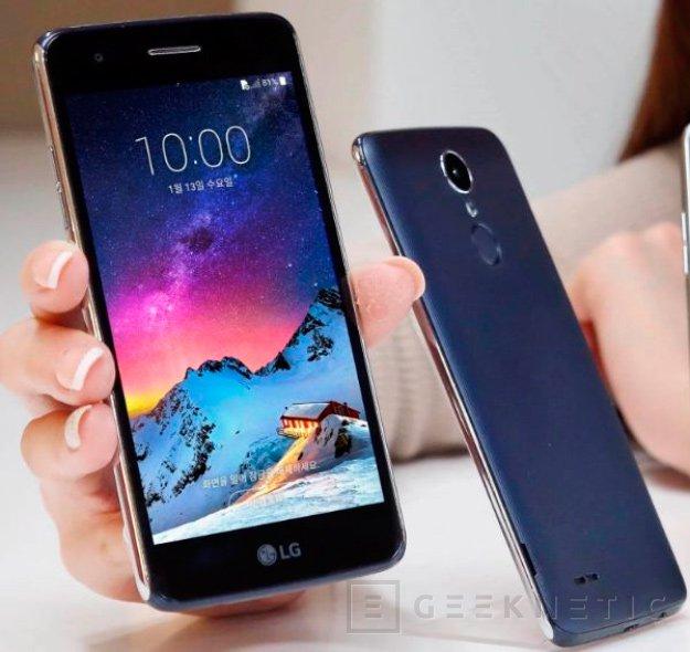 El X300 es el último smartphone de gama de entrada de LG con Android 7.0, Imagen 1