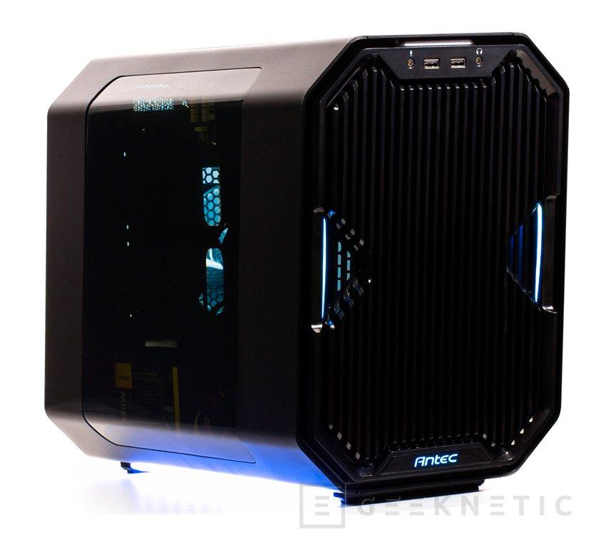 Antec y EK crean esta torre Mini ITX para refrigeración líquida, Imagen 1