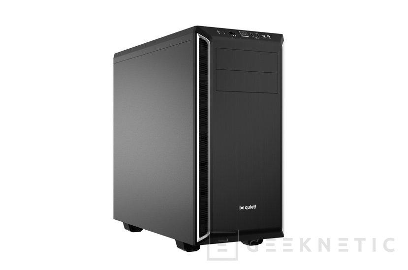 BeQuiet! Pure Base 600, elegante torre ATX con aislamiento sonoro, Imagen 1