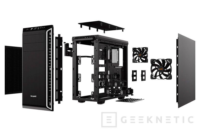 BeQuiet! Pure Base 600, elegante torre ATX con aislamiento sonoro, Imagen 2