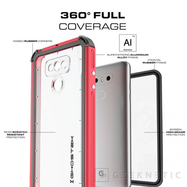 El LG G6 se presentará el 26 de febrero, así son los primeros renders, Imagen 1