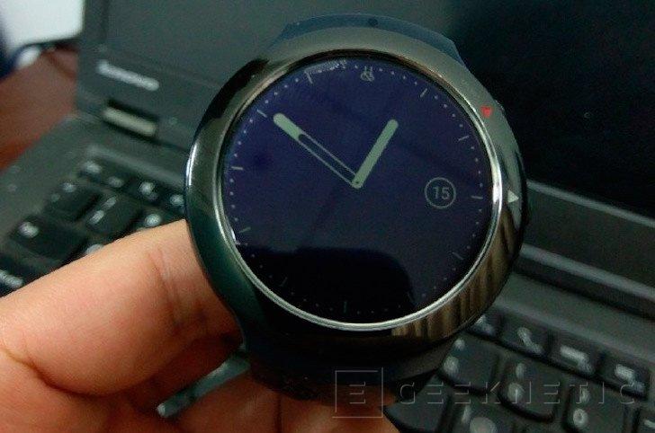 Salen a la luz nuevas fotografías del smartwatch de HTC, Imagen 1