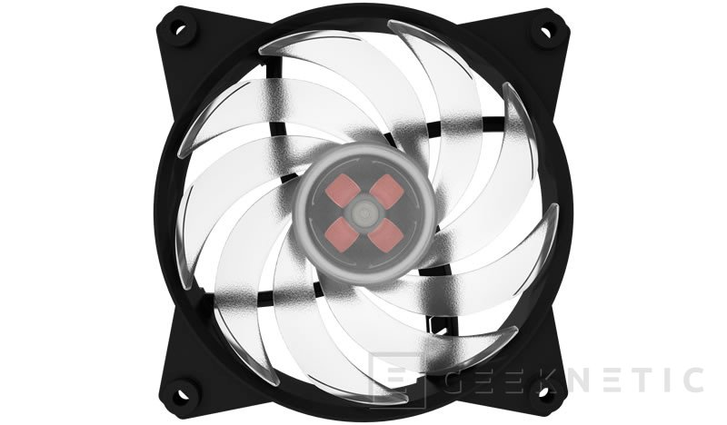 Cooler Master añade iluminación RGB a sus ventiladores MASTERFAN PRO 120 Pro 120 Air Balance RGB, Imagen 1