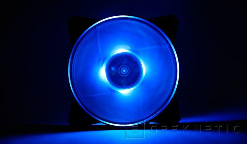 Cooler Master añade iluminación RGB a sus ventiladores MASTERFAN PRO 120 Pro 120 Air Balance RGB, Imagen 2