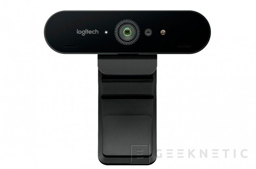 Logitech Brio, una webcam 4K/HDR compatible con Windows Hello, Imagen 1