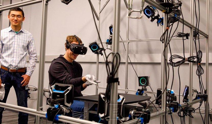 Oculus trabaja en unos guantes para sus gafas de realidad virtual, Imagen 1