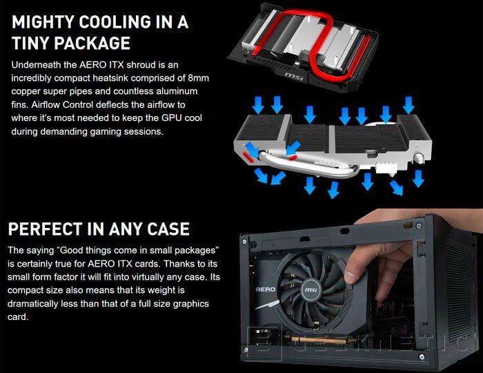 Una compacta GTX 1070 Aero ITX es la sorpresa que escondía MSI, Imagen 2