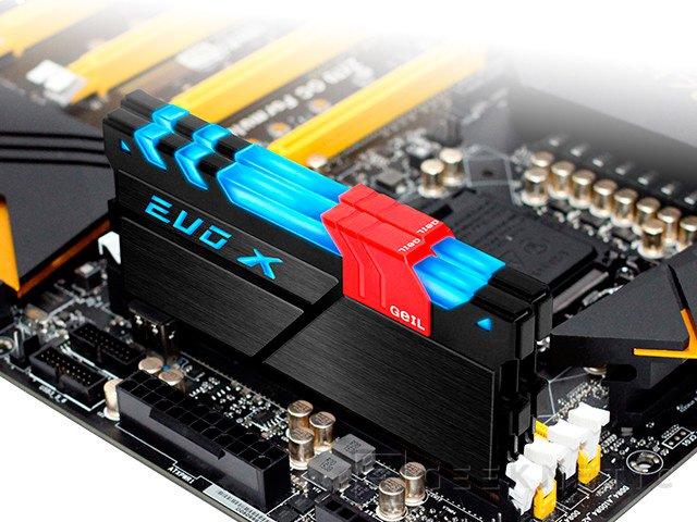 GeIL introduce LEDs RGB en sus memorias DRR4 EVO-X, Imagen 1