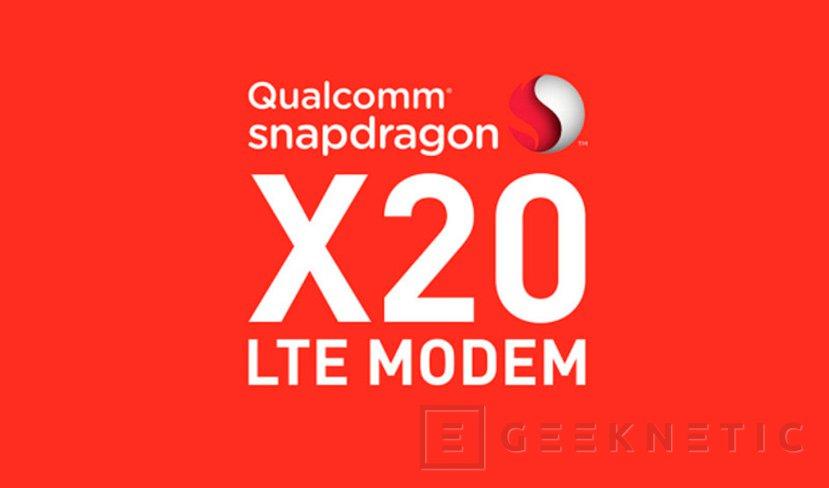 El módem Qualcomm Snapdragon X20 alcanza 1,2 Gbps, Imagen 1