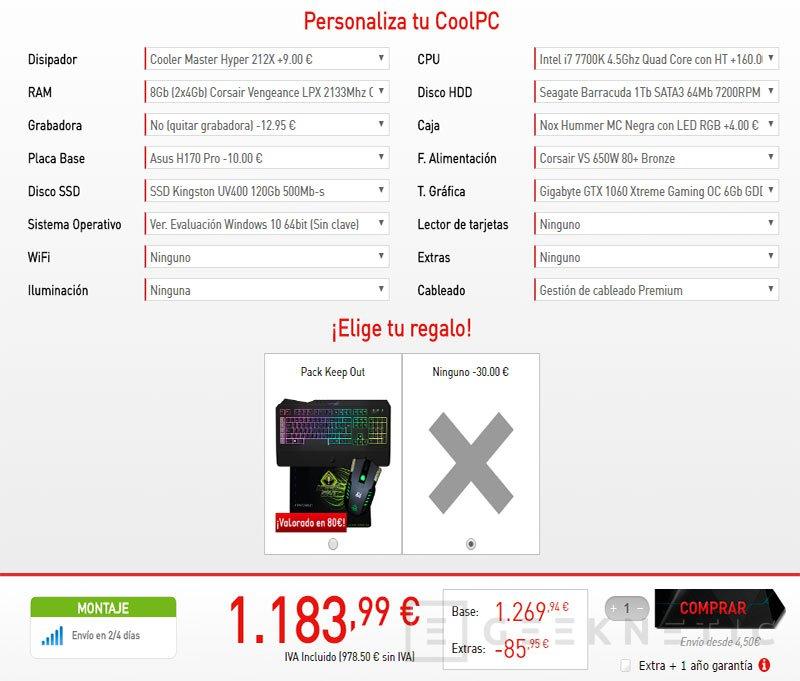 Aparecen listados los primeros PCs con AMD Ryzen en Coolmod, Imagen 2