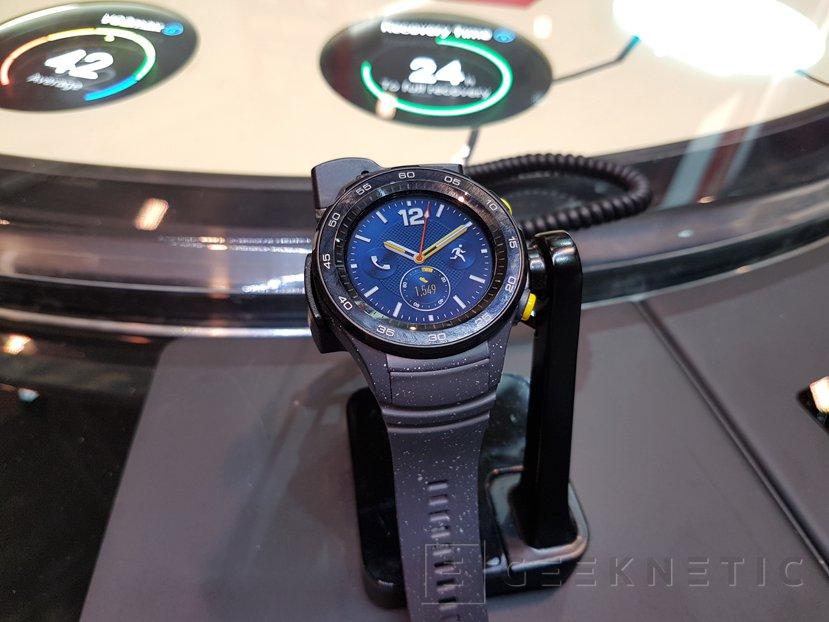 Huawei Watch 2 llega en dos diseños y con tarjeta SIM, Imagen 3