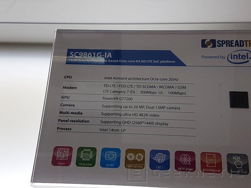 La arquitectura X86 de Intel vuelve a los smartphones con el Spreadtrum SC9861G-IA de 8 núcleos, Imagen 2