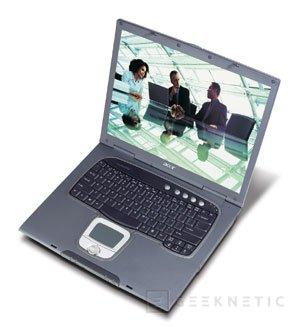 Acer presenta los nuevos portátiles TravelMate 8000 con tecnología Intel Centrino Mobile, Imagen 1