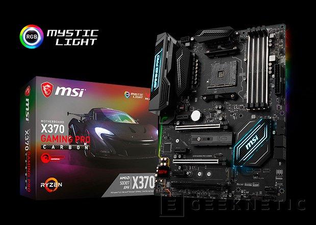 MSI anuncia sus placas base gaming para AMD Ryzen, Imagen 1