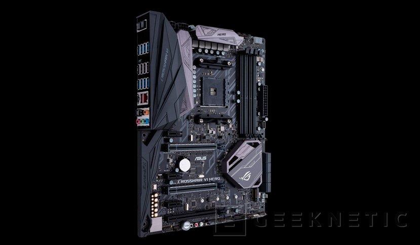 La ROG Crosshair VI Hero encabeza la nueva gama de placas base de ASUS para AMD RYZEN, Imagen 1