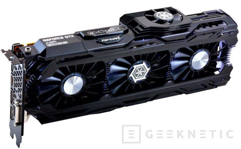 Inno3D integrará cuatro ventiladores en su GTX 1080 Ti iChill, Imagen 1