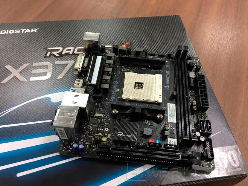 La primera placa base AM4 en formato Mini-ITX será de BIOSTAR, Imagen 1
