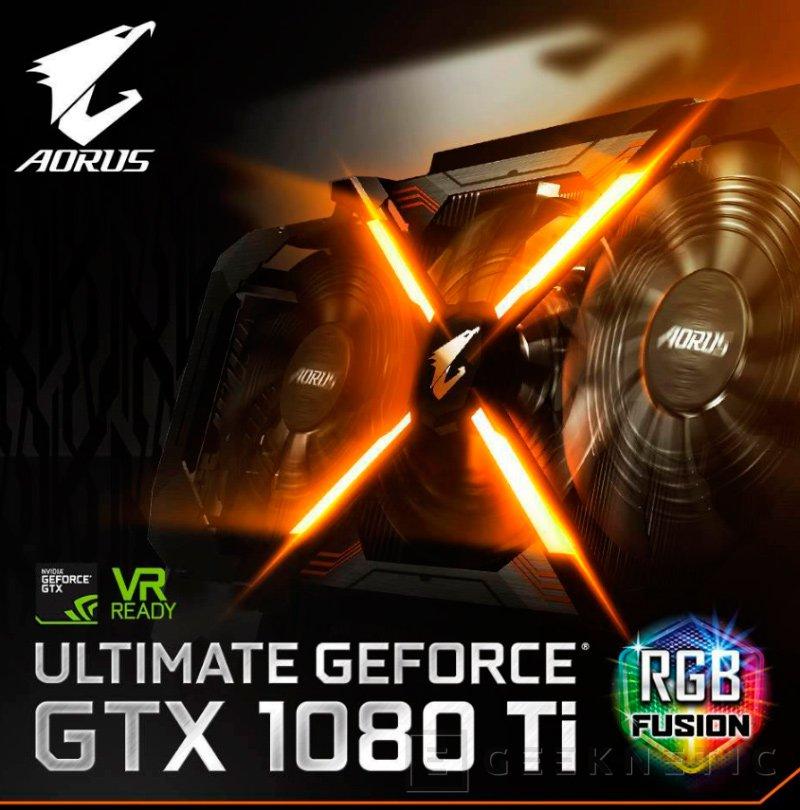 Gigabyte deja ver su GTX 1080 Ti AORUS Xtreme, Imagen 2