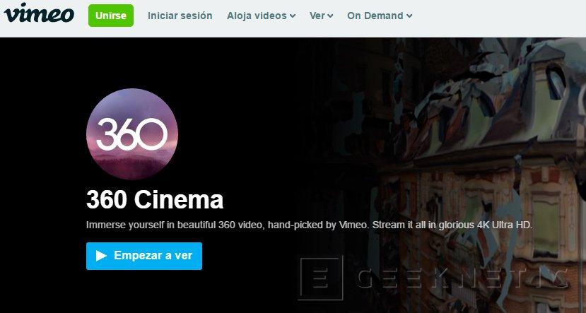 Vimeo también adopta el vídeo de 360 grados, Imagen 1
