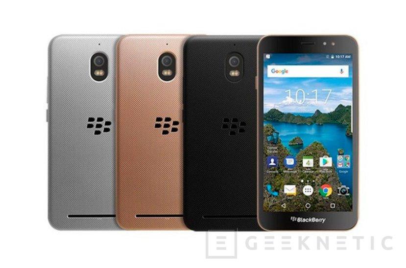 Blackberry no se olvida de la gama de entrada con su nuevo Aurora, Imagen 1