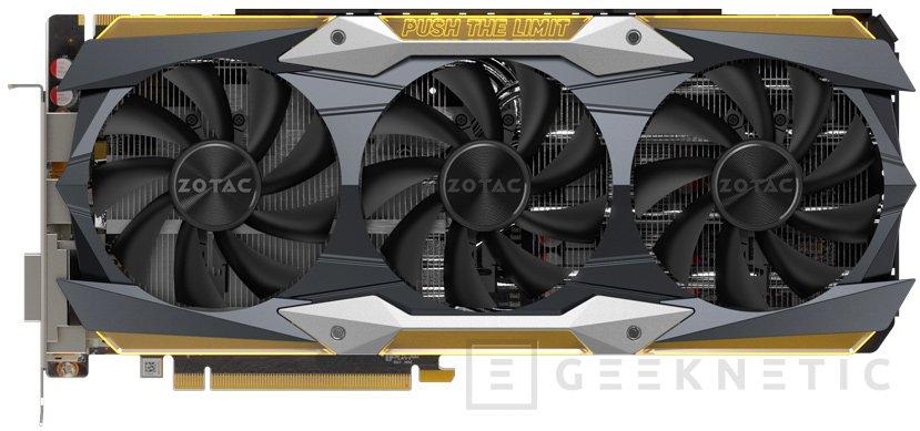 Así serán las ZOTAC GTX 1080 Ti AMP y AMP Extreme personalizadas, Imagen 2