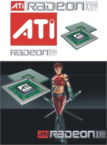 Las X800 de ATI con el nucleo a 520 Mhz y 256 Mb GDDR3 a 1.12 Ghz, Imagen 1