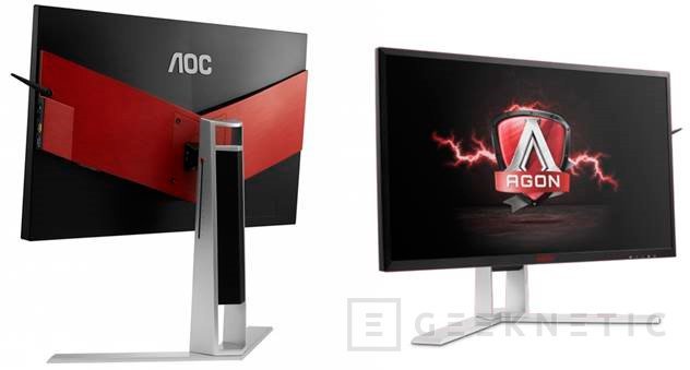 El monitor AOC AGON AG271UG llega con 4K y G-SYNC en panel IPS, Imagen 1