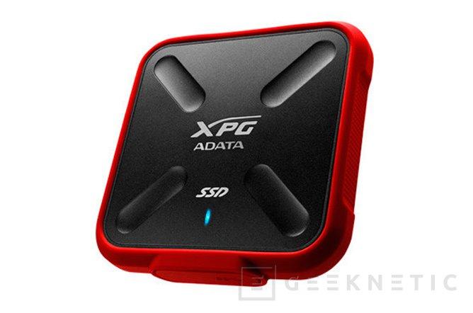 Resistencia al agua y a los golpes para los SSD externos ADATA XPG SD700X, Imagen 1