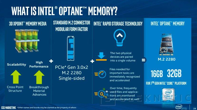 Llega la tecnología Intel Optane Memory para acelerar el acceso a los datos del PC, Imagen 3