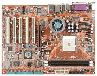 KV8 Pro: La nueva placa base de Abit para Athlon64, Imagen 1