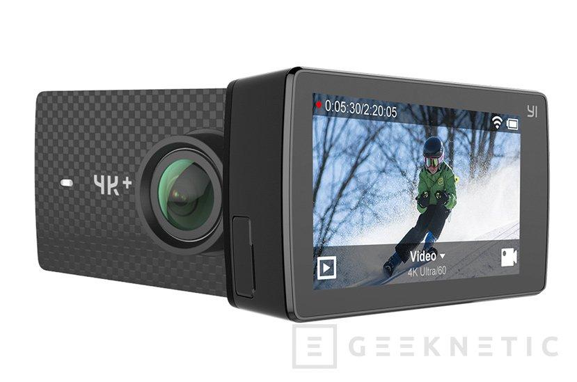 Llega a España la cámara de acción YI 4K+ con grabación 4K a 60 FPS, Imagen 1