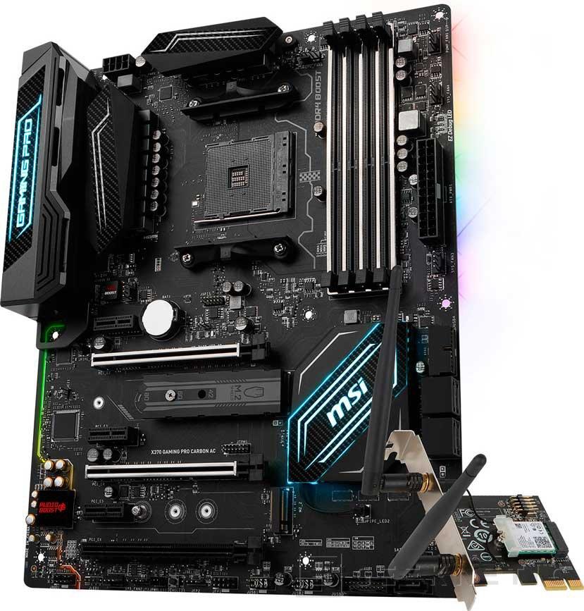 MSI añade WiFi 802.11ac a su placa X370 Gaming Pro Carbon AC, Imagen 1
