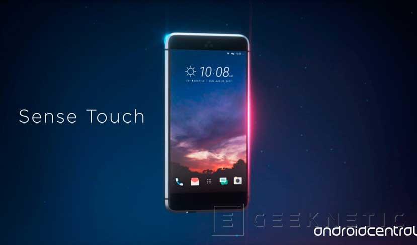 El HTC Ocean contará con un Snapdragon 835 y marcos táctiles, Imagen 1