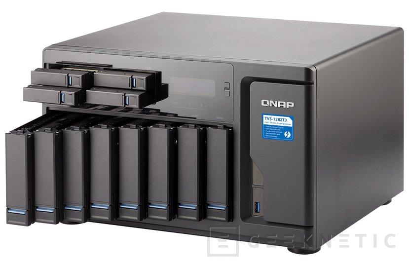 QNAP TVS-1282T3, nuevo NAS de 12 bahías con conectividad Thunderbolt 3, Imagen 1