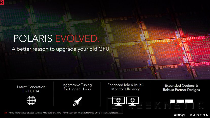 AMD actualiza su línea gráfica con las Radeon RX 580, RX 570, RX 560 y RX 550, Imagen 2