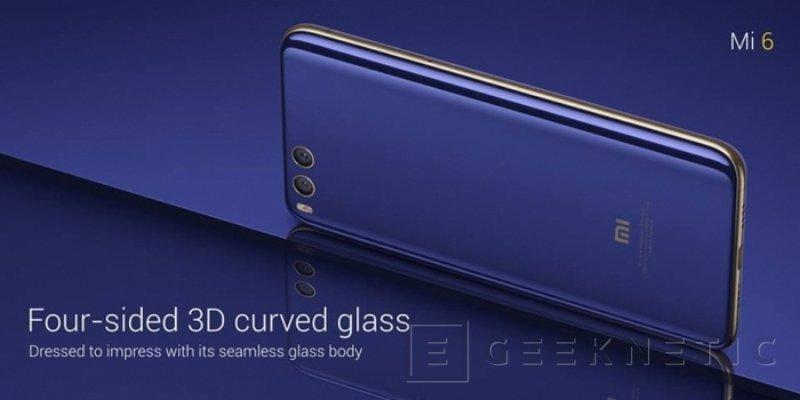 El Xiaomi Mi 6 llega con doble cámara y el potente Snapdragon 835 , Imagen 1