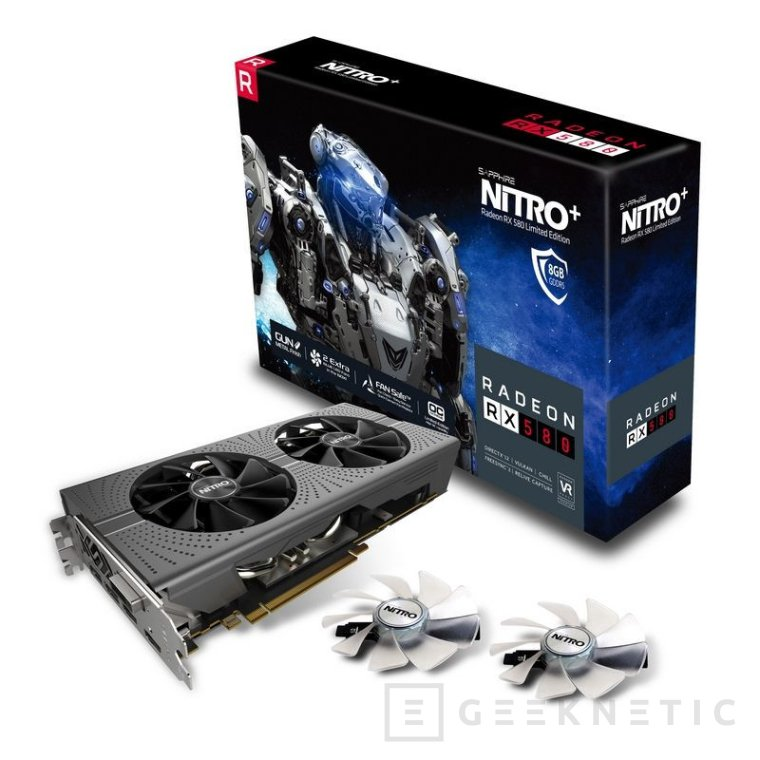 Sapphire Radeon RX 580 Nitro+ y RX 570 Nitro+, Imagen 1