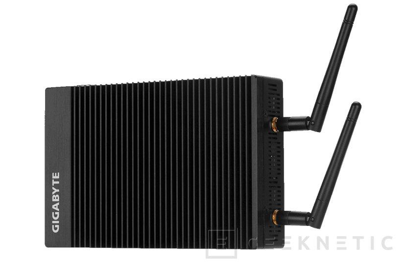 El pequeño y silencioso mini PC Gigabyte BRIX IoT recibe a Kaby lake, Imagen 1