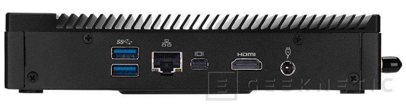 El pequeño y silencioso mini PC Gigabyte BRIX IoT recibe a Kaby lake, Imagen 2