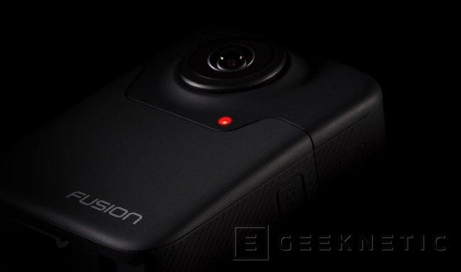 Fusion, así es la cámara deportiva de 360 grados de GoPro, Imagen 1